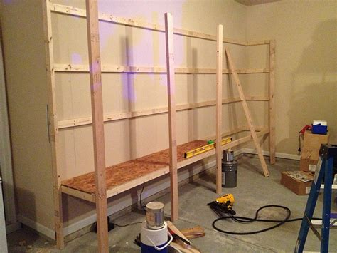 Wall Mounted Garage Cabinet Plans