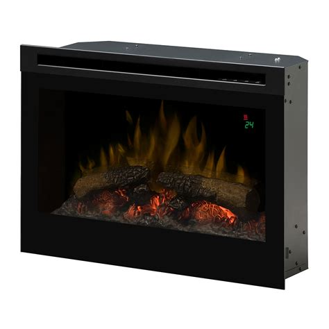 dimplex 25 in in electric fireplace insert df2524l