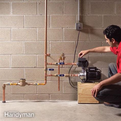 Shower Pump Under Bath how to increase water pressure in your house family handyman