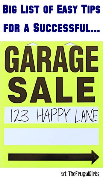 Garage Sale Tips And Tricks by 31 Garage Sale Tips And Tricks Pricing Set Up Ideas