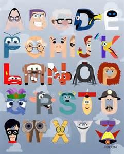Disney Character Letter X Pixar Corner The Pixar Alphabet