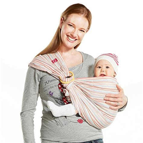 Mamaway Baby Sling Mickey Kaleidoscope Pink mamaway ring sling baby wrap carrier for infant newborn toddler nursing cover