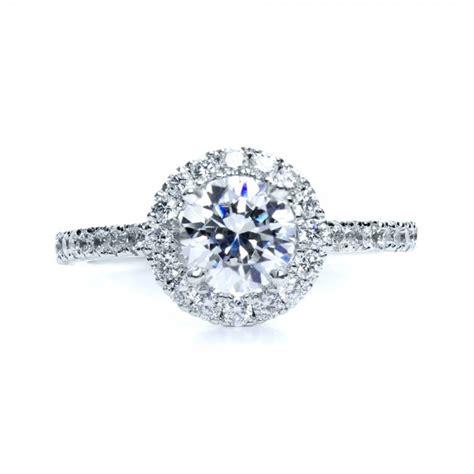 halo engagement ring 161 bellevue seattle joseph