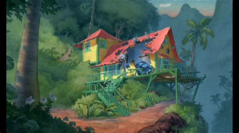 Stitch House lilo stitch screencap lilo stitch image 1727305