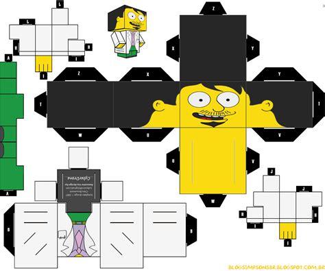 Simpsons Papercraft - papercraft simpsons papercraft toys arte de papel