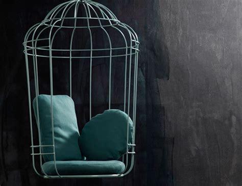 birdcage swing swing cageling birdcage chair 187 gadget flow