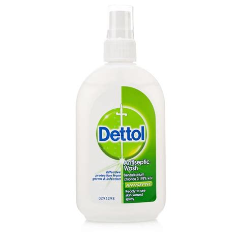 dettol antiseptic wash spray 100ml ebay