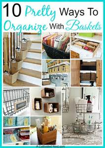 Organize Your Home by Organize With Baskets