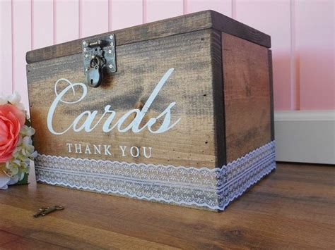 Wedding Envelope Box With Lock by 1000 Ideas About Wedding Card Boxes On Card