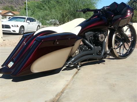 ebay bike of the week the ron burgundy beantown baggers