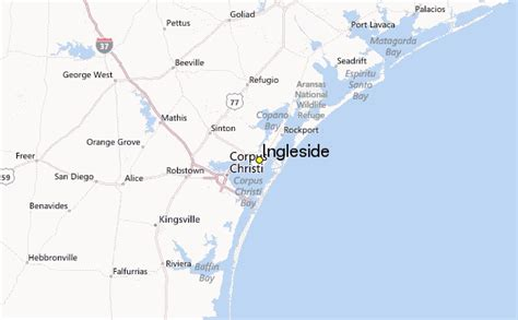 ingleside texas map ingleside weather station record historical weather for ingleside texas