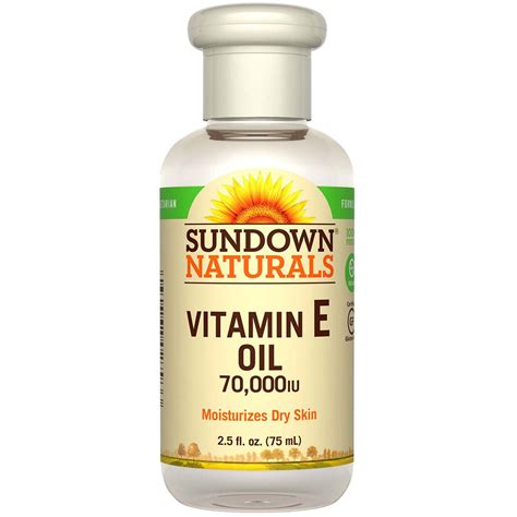 Produk Istimewa Sundown Naturals Vitamin E Vitamin E 75 Ml sundown naturals vitamin e 70 000 iu 2 5 fl oz 75