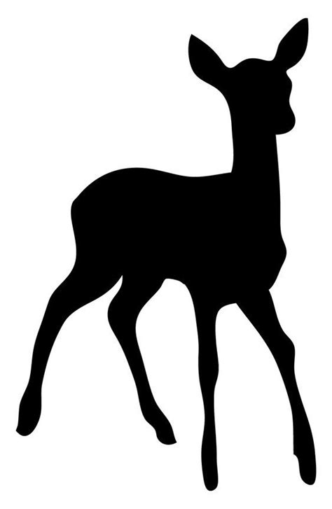 animal silhouette stencil reindeer silhouette stencil 788 best silhouettes images on pinterest silhouette