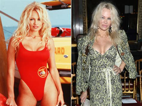 Pam Has A New Tv Show Mound by Baywatch Cast Where Are They Now