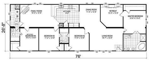 10 images about wide mobile home floor plans on