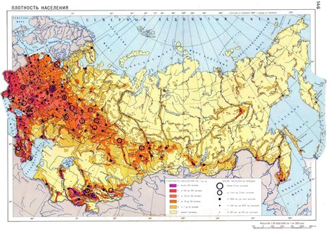 russia density map russia population density map my
