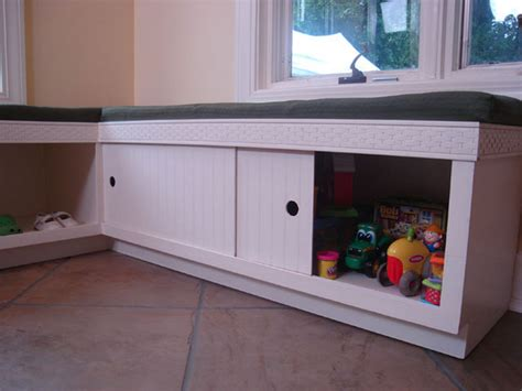 plans for building a storage bench seat quick