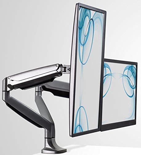 Mount It Monitor Desk Mount Computer Monitor Stand Height Desk Cl Monitor Stand