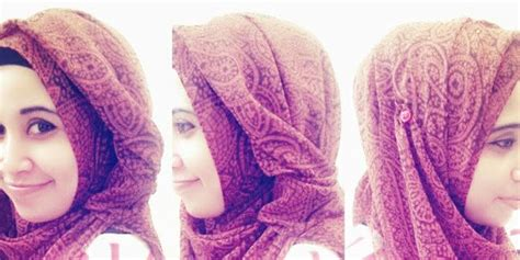 tutorial hijab vemale pin by marcee charlshe on accessories head coverings