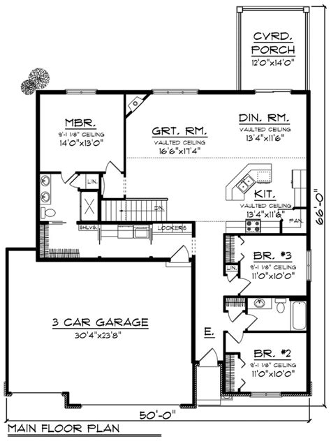 ranch style house plan 3 beds 2 baths 1700 sq ft plan ranch style house plan 3 beds 2 baths 1660 sq ft plan