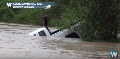 rescue sc elderly grandmother rescued from rising flood waters weathernation