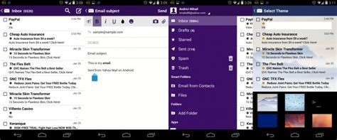 yahoo mail app for android yahoo mail android notification light
