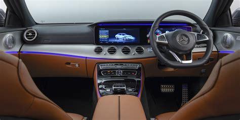 mercedes e class interior mercedes e class saloon interior infotainment carwow