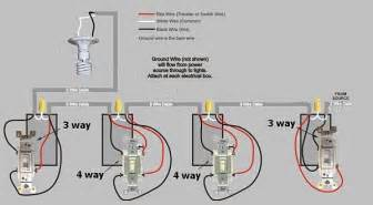 Way light switch how to add another 4 way