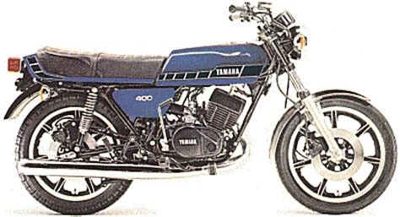 Yamaha Rd 400 Motorrad by Die Yamaha Rd400 Seite