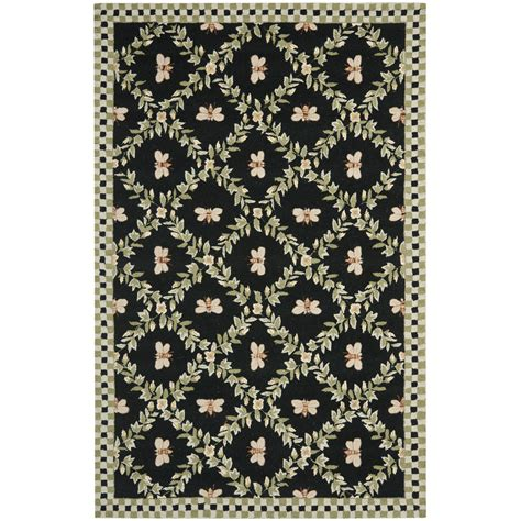 Novelty Rugs by Safavieh Chelsea Bumblebee Black Novelty Rug Reviews