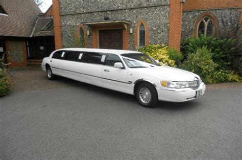wedding car lincoln lincoln limousine wedding car hire surrey vintage