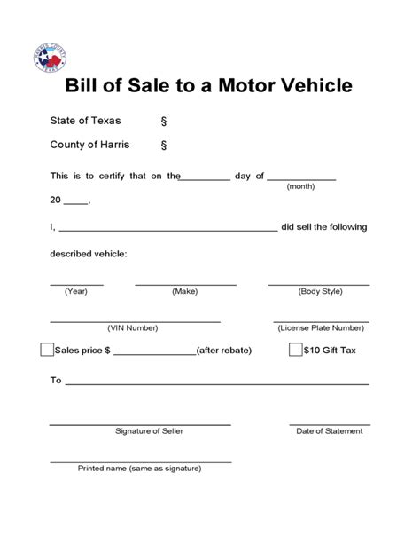 boat bill of sale wisconsin bill of sale to a motor vehicle texas free download