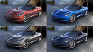 corvette colors four paint colors discontinued for the 2016 corvette