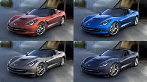 what color was the corvette four paint colors discontinued for the 2016 corvette