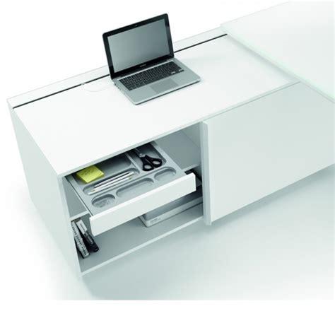 bureau avec desserte 180cm 240cm en aluminium eight