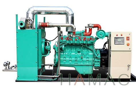 gas generator set with chp manufacturer 50kw 63kva hamac