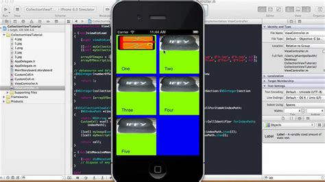 xcode tutorial mapview collection view tutorial xcode 4 5 1 youtube