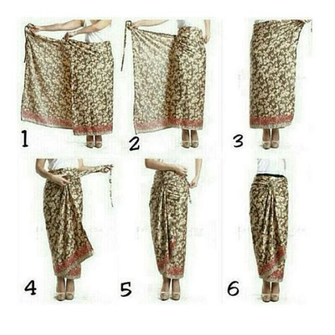 tutorial ikat kain batik 25 best cara pake kain images on pinterest kain batik