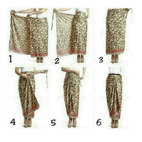 cara menggunting rok 25 best cara pake kain images on pinterest kain batik