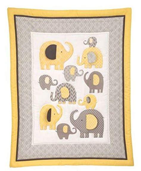 Yellow Elephant Crib Bedding Bedding By Nojo Elephant Time 4 Crib Bedding Set Yellow Limited Time On Sale