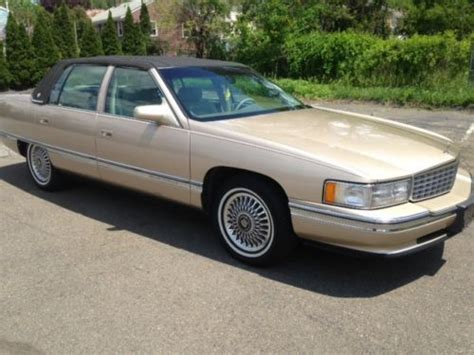 1995 cadillac deville 4 9 l owners manual find used 1995 cadillac deville base sedan 4 door 4 9l in east haven connecticut united states
