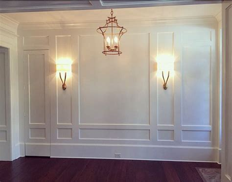 Wall Wainscoting by This Would Be A Beautiful Master Bedroom Lighting In