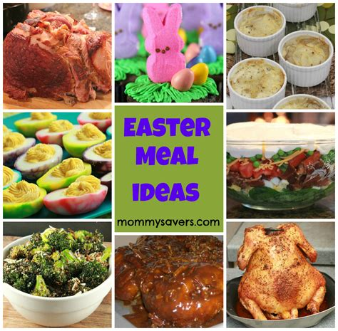 easter meal ideas mommysavers