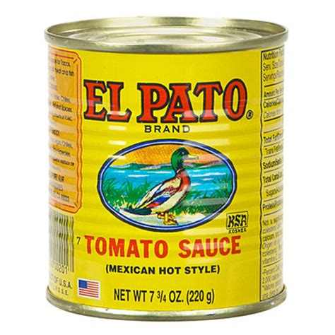 view the original el pato 174 brand tomato sauce deals at big