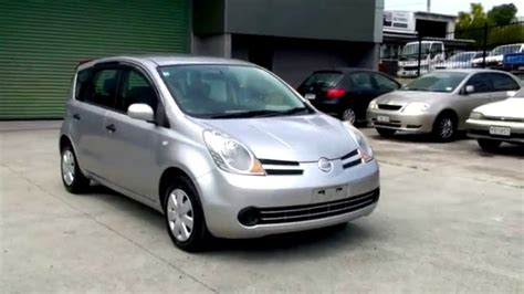 nissan note 2005 nissan note 2005 95km 1 5l auto youtube