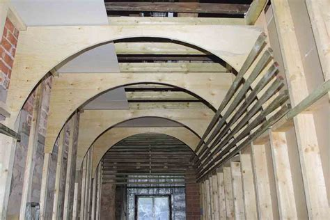 How To Vault Ceiling by Barrel Vaulted Ceiling Framing Contractor Talk