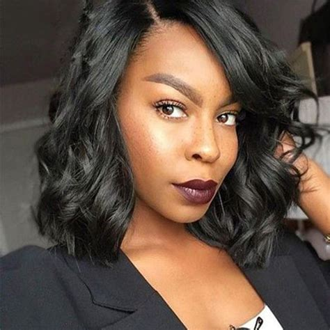 loose wave hairstyles for black women brazilian loose wave full lace human hair wigs for black women