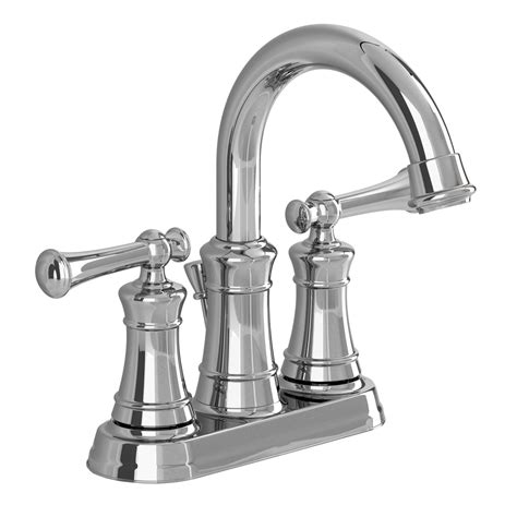 american standard faucets bathroom shop american standard emory chrome 2 handle 4 in