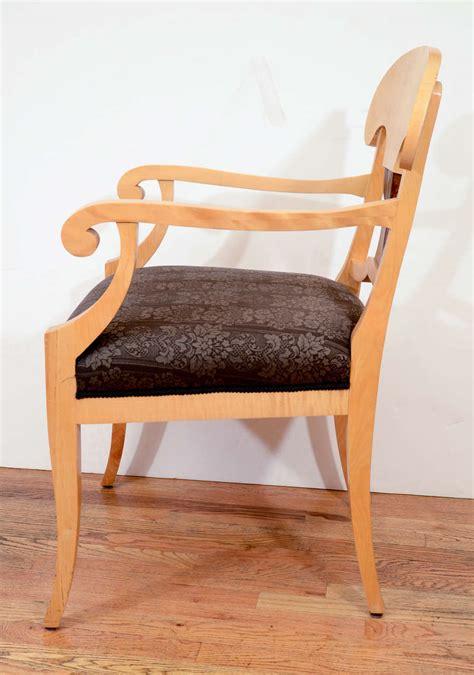 oversized armchairs for sale oversized quot napoleon hat quot biedermeier armchairs for sale at