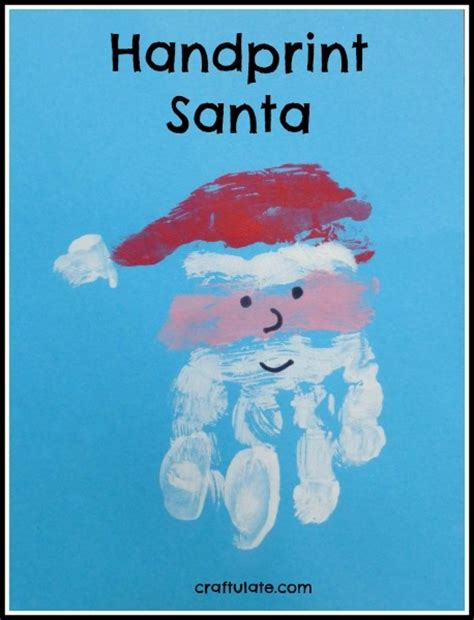 super cute father christmas crafts for kids babycentre blog